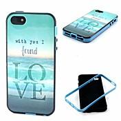 me encanta el mar modelo cubierta trasera del caso para iPhone5 / 5s