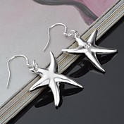 Earring Stud Earrings / Drop Earrings Jewelry Women Silver 2pcs Silver