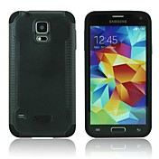 xmart® dos en una caja de la PC y de silicona para Samsung Galaxy i9600 s5