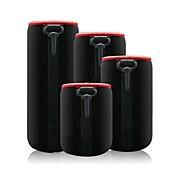 소니 니콘 캐논 펜탁스 크기 SML XL 4 개에 대한 dengpin 네오프렌 소프트 보호자 카메라 DSLR 카메라 SLR 렌즈 파우치 가방 케이스 커버