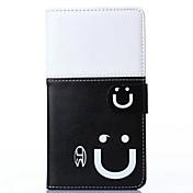 용 Samsung Galaxy Note 카드 홀더 / 스탠드 / 플립 케이스 풀 바디 케이스 카툰 인조 가죽 Samsung Note 4