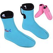 divesail 3mm niños de neopreno de buceo de natación de invierno calcetines de buceo botas traje de neopreno calentamiento zapatos