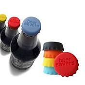 tapones de materiales de silicona color caramelo (color al azar)