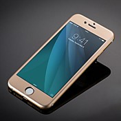 패션 고급 티타늄 합금 강화 유리 전체 커버리지 화면 아이폰 6S에 대한 보호 플러스 / 6 플러스