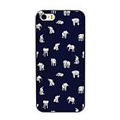 estuche rígido pequeño elefante diseño pc encantadora para el iphone 4 / 4s