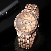하이 엔드 패션 비즈니스 캐주얼 남성의 다이아몬드 강철 석영 시계