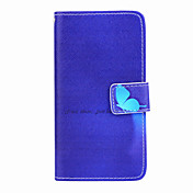 Modelo azul de la mariposa de la PU caso de cuerpo completo magia spider®dark pie con protector de pantalla para Sony e3