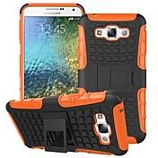 용 삼성 갤럭시 케이스 충격방지 / 스탠드 케이스 뒷면 커버 케이스 갑옷 PC Samsung E7 / E5