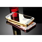 용 아이폰5케이스 크리스탈 / 도금 / 거울 케이스 뒷면 커버 케이스 단색 하드 메탈 iPhone SE/5s/5