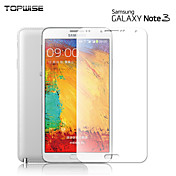 galaxia topwise®samsung Nota 3 protectores de pantalla de cristal templado dureza 9h 0.3mm 2.5d anti-arañazos de choque a prueba de