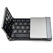 tiburón viejo teclado bluetooth plegable ultra-delgado de bolsillo teclado inalámbrico para ios ventanas Smartphone Android tablet pc ™