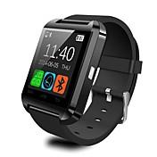 u는 아이폰 안드로이드에 대한 U8 스마트 블루투스 손목 시계 패션 스마트 워치 시계