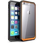 용 아이폰6케이스 / 아이폰6플러스 케이스 충격방지 / 투명 케이스 뒷면 커버 케이스 단색 하드 PC iPhone 6s Plus/6 Plus / iPhone 6s/6