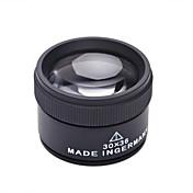 안경 확대 렌즈 보석류 고해상도 저항하는 날씨 Fogproof 일반적인 넓은 각도 30x 36 보통 메탈 알루미늄