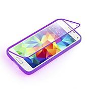 용 삼성 갤럭시 케이스 투명 케이스 풀 바디 케이스 단색 TPU Samsung S5