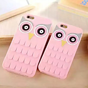 Para Funda iPhone 6 / Funda iPhone 6 Plus Antigolpes Funda Cubierta Trasera Funda Dibujo 3D Suave SiliconaiPhone 6s Plus/6 Plus / iPhone