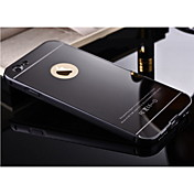 제품 iPhone X iPhone 8 iPhone 6 Plus 케이스 커버 거울 뒷면 커버 케이스 한 색상 하드 메탈 용 Apple iPhone X iPhone 8  Plus iPhone 8 iPhone 6s Plus iPhone 6 Plus