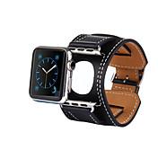 Reloj de la venda para el reloj de la joyería 38m m la venda clásica de la hebilla del cuero de la hebilla 42m m
