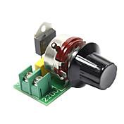 Arduino를위한 고출력 가져온 SCR 전압 조정기 3000W