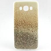 For Samsung Galaxy Case Pattern Case Back Cover Case Glitter Shine TPU Samsung J7 / J5 (2016) / J1