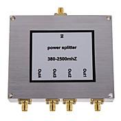 4 방향 SMA 전력 분배기 휴대 전화 신호 부스터 스플리터 380-2500mhz
