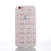 용 아이폰6케이스 / 아이폰6플러스 케이스 투명 / 패턴 케이스 뒷면 커버 케이스 코끼리 소프트 TPU iPhone 6s Plus/6 Plus / iPhone 6s/6