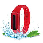 HB02 스마트 팔찌 방수 / 긴 대기시간 / 심장 박동수 모니터 / 디스턴스 트렉킹 / 슬립 트렉커 / 내 전자제품 찾기 블루투스 4.0 iOS / Android