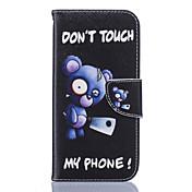 용 Samsung Galaxy S7 Edge 카드 홀더 / 지갑 / 스탠드 / 플립 / 패턴 케이스 풀 바디 케이스 꽃장식 소프트 인조 가죽 Samsung S7 edge / S7 / S6 edge / S6 / S5