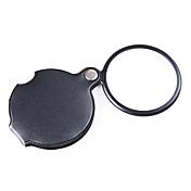 확대 렌즈 일반적 사용 / 독서 개고 / 일반적인 / 고 해상도 / 소형 6X 50mm 보통 PU 피혁