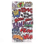 Para Funda iPhone 7 / Funda iPhone 7 Plus / Funda iPhone 6 Cartera / Soporte de Coche / Flip Funda Cuerpo Entero Funda Palabra / Frase