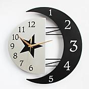 현대/현대 주택 벽 시계,기타 메탈 / 우드 32*31CM 실내 시계