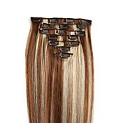 인간의 머리카락 확장 머리카락 100 14 머리 확장
