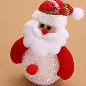 muñeco de nieve acrílico lámpara de ambiente de la decoración de iluminación novedoso 7colorful luz de la Navidad