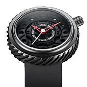 남성 스포츠 시계 밀리터리 시계 패션 시계 독특한 창조적 인 시계 손목 시계 방수 석영 일본 쿼츠 실리콘 밴드 빈티지 럭셔리 멋진 캐쥬얼 창의적 블랙