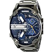 Hombre Reloj Deportivo Reloj Militar Reloj de Vestir Reloj de Pulsera Reloj Pulsera Cuarzo Calendario Dos Husos Horarios Punk Aleación