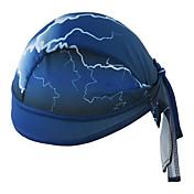 xintown 헬멧 라이너 캡 coolskin 두개골 모자 sweatband 수영 수영 등반 남자 여성 자전거 모자 - 파란색