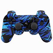 무선 조이스틱 블루투스 dualshock3 sixaxis 충전식 컨트롤러 gamepad for ps3 (multicolor)