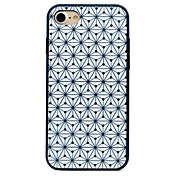 Geometric Patterns PC and Silicone Combo Shockproof Scratch-Resistant Phone Case for iPhone 7 Plus 7 6S Plus 6S 6