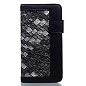 용 카드 홀더 방진 스탠드 케이스 풀 바디 케이스 컬러 그라데이션 하드 인조 가죽 용 Apple 아이폰 7 플러스 아이폰 (7)