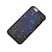 Para Antipolvo Funda Cubierta Trasera Funda Paisaje Dura Policarbonato para Apple iPhone 7 Plus iPhone 6s Plus/6 Plus
