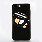 용 거울 DIY 케이스 뒷면 커버 케이스 섹시 레이디 소프트 TPU 용 Apple 아이폰 7 플러스 아이폰 (7) iPhone 6s Plus iPhone 6 Plus iPhone 6s 아이폰 6