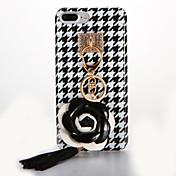 용 IMD DIY 케이스 뒷면 커버 케이스 꽃장식 소프트 TPU 용 Apple 아이폰 7 플러스 아이폰 (7) iPhone 6s Plus iPhone 6 Plus iPhone 6s 아이폰 6