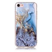Für IMD Muster Hülle Rückseitenabdeckung Hülle Marmor Weich TPU für AppleiPhone 7 plus iPhone 7 iPhone 6s Plus/6 Plus iPhone 6s/6 iPhone