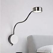 AC 110-130 AC 220-240 3 집적 LED 모던/현대 크롬 특색 for LED,주변 라이트 벽 스콘스 벽 빛