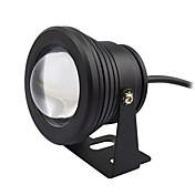10w 수중 램프 IP68 따뜻한 / 차가운 백색 분수 빛 타이밍 기능 풀 연못 물고기 탱크 수족관 DC12V를 주도