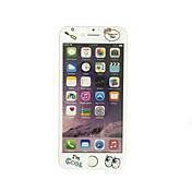 부드러운 가장자리 전체 화면 범위 전면 화면 보호기 만화 패턴 애플 아이폰 6 플러스 / 6S 플러스 5.5 인치 강화 유리에 대한