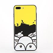 Para con Soporte Diseños Funda Cubierta Trasera Funda Dibujos Dura Policarbonato para AppleiPhone 7 Plus iPhone 7 iPhone 6s Plus iPhone 6