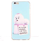용 충격방지 패턴 케이스 뒷면 커버 케이스 카툰 소프트 TPU 용 Apple iPhone 6s Plus iPhone 6 Plus iPhone 6s 아이폰 6 iPhone SE/5s iPhone 5