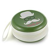 손목 스피너 손가락 가방 만화 미소 금속 이어폰 범용 케이스
