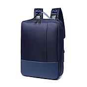 다기능 노트북 가방 15.6 인치 비즈니스 배낭 다기능 캐주얼 여행 남여 어깨 가방 방수 옥스포드